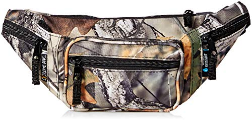 ExtremePak Tree Water-Resistant Waist Bag, Camo