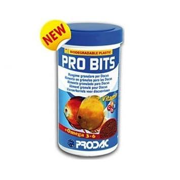 prodac Pro Bits 250ml Alimento para peces discos: Amazon.es: Productos para mascotas