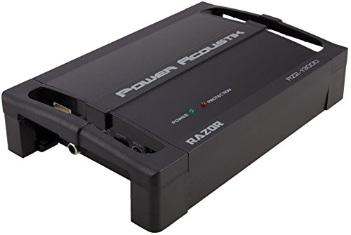 Power Acoustik RZ2-1300D (rz21300d) 1300W Max,2-Channel RAZOR Series Full Range Class D Car Amplifier by Power Acoustik