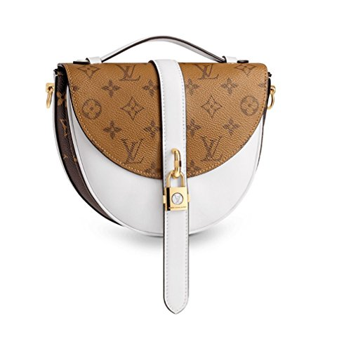 Louis Vuitton Monogram Canvas Chantilly Lock Cross Body Handbag Blanc Article: M43645