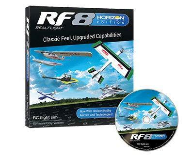 RealFlight RF8 Horizon Hobby Edition: RC Flight Simulator Software DVD Only (RFL1001) (The Best Flight Simulator)