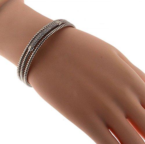 Bracelet Argent 925 Oxyde de zirconium ref 41950