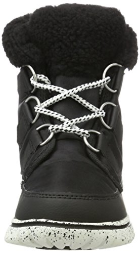 Sorel Cozy Carnival, Scarpe da Ginnastica Alte Donna Nero (Black, Sea Salt 010black, Sea Salt 010)
