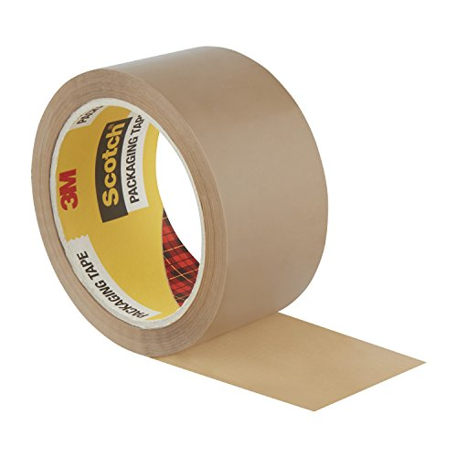 scotch packing tape brown packaging tape 6 rolls ideal brown