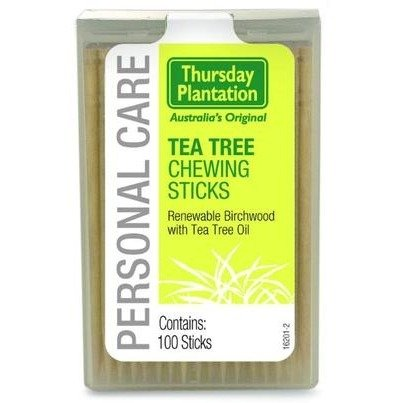 (Chew Sticks (100) Tea Tree Toothpicks Brand: Thursday Plantation)