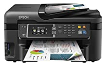 Epson Workforce WF-3620DWF - Impresora multifunción de Tinta (WiFi, Color 10 PPM, USB, Pantalla LCD), Color Negro