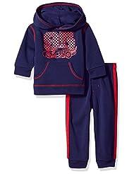 Disney Toddler Boys\' Cars 2-Piece Hoodie and Pant Set, Blue,...