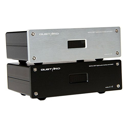 GUSTARD U12 32Bit / 384KHz DSD XMOS USB Digital Audio Interface Black ()