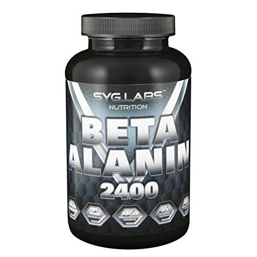Syglabs Nutrition Beta Alanin 2400 - 240 hochdosierte Kapseln, 1er Pack (1 x 229 g)