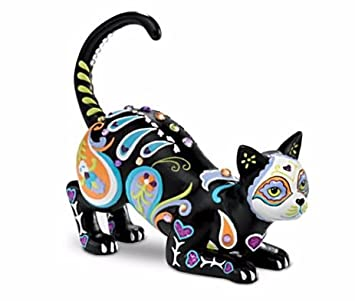 Blake Jensen Cat-tivating Peaceful Cat Figurine: Hamilton Collection by The Hamilton Collection