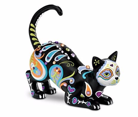 Blake Jensen Cat-tivating Peaceful Cat Figurine: Hamilton Collection by The Hamilton Collection (Cat Figurine Collection)