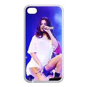 Custom Selena Gomez Back Cover Case for Iphone 4,4S JN4S-466 by ruishername