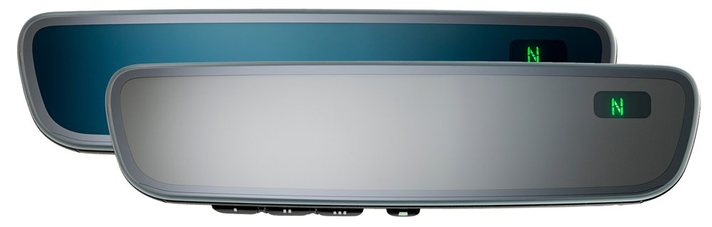 Gentex Series 8 Frameless Auto-Dimming Mirror with Homelink and Compass 50-genk85a