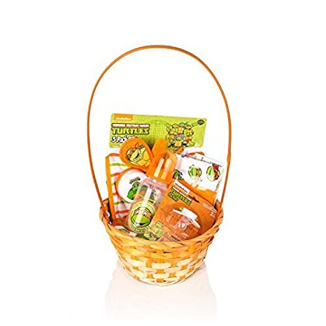 Amazon.com : Ninja Turtles Newborn Easter Gift Basket(Orange) For ...