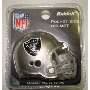 - Oakland Raiders Revolution Pocket Pro Helmet by Riddell