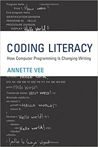 Coding literacy how computer programming is changing writing coding literacy how computer programming is changing writing software studies annette vee 9780262036245 amazon books fandeluxe Image collections