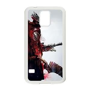 Bloodborne Samsung Galaxy S5 Cell Phone Case White yyfD-332645