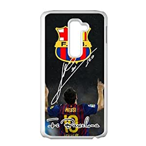 F.C.B Messi Cell Phone Case for LG G2