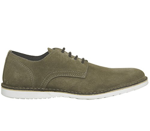 Ask The Missus Gear Wedge Shoes Taupe Suede