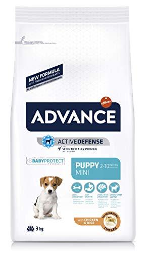 ADVANCE Puppy Mini – Pienso Para Cachorros De Razas Pequeñas Con Pollo – 3 kg