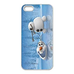 Case for iPhone 5s,Cover for iPhone 5s,Case for iPhone 5,Hard Case for iPhone 5s,Frozen Olaf Design TPU Hard Case for Apple iPhone 5 5S wangjiang maoyi by lolosakes