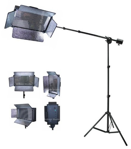 Ardinbir Studio Pro 500 Led Photo Video Boom Lighting Panel kit with Boom arm u0026 light  sc 1 st  Amazon.com & Amazon.com : Ardinbir Studio Pro 500 Led Photo Video Boom Lighting ...