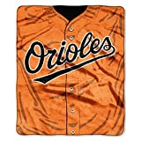 MLB Baltimore Orioles Jersey Plush Raschel