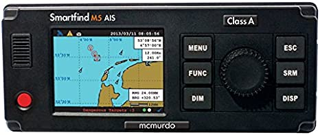 Mcmurdo Smartfind M5 Class A AIS Transponder c/w Antena GPS ...