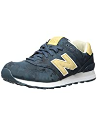 New Balance Men's 574 Cameo Pack Lifestyle Fashion Sneaker, Tornado/Toasted Coconut, 6.5 D US