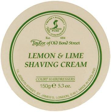 Taylor of Old Bond Street Crema da Rasatura Fragranza Lime e Limone - 1 pz
