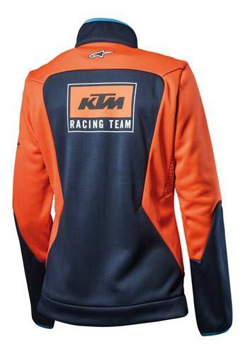 3PW1881201 XS KTM GIRLS REPLICA SOFTSHELL JACKET