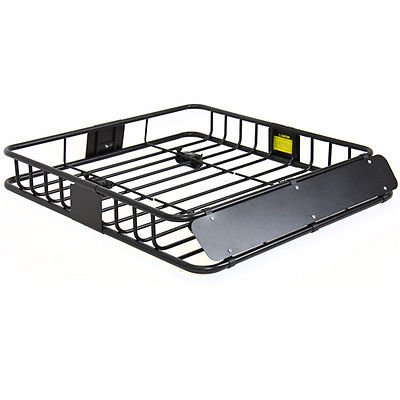 Universal Roof Rack Cargo Car Top Luggage Carrier Traveling SUV Holder