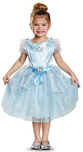 Disney Cinderella Movie Toddler Costumes (Disguise Cinderella Toddler Classic Costume, Medium (3T-4T))