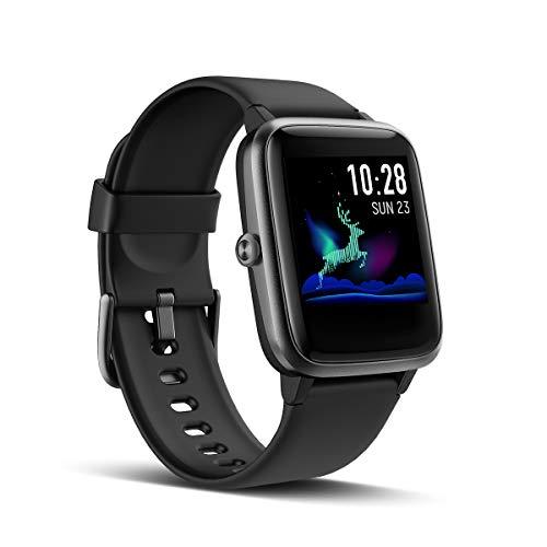LATEC Smartwatch, fitnessarmband, volledig touchscreen, fitnesstracker, IP68 waterdicht, fitnesshorloge met…