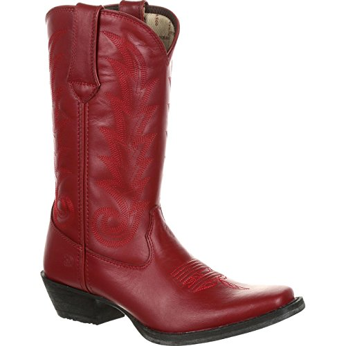 Durango Women's Red Leather Western Boot ()