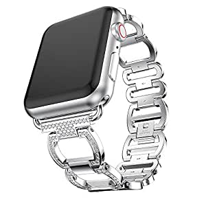Amazon.com: HighlifeS Bling Band Compatible Apple Watch