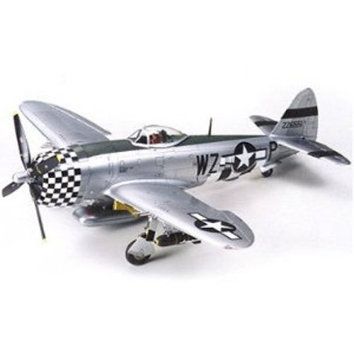 Fighter P-47d Thunderbolt (Tamiya Models P-47D Thunderbolt Bubbletop Model Kit)