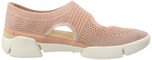Combi Blossom Noir pink Tri Femme Ballerines Clarks 81Y4qW