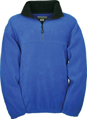 Colorado Timberline Men's Steamboat 1/4 Zip Fleece Pullover-L (Royal)