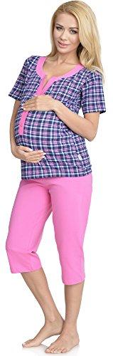 rosa Allattamento con Mammy Pigiama G1BR32LL2 Funzione Premaman Be 0w78pxZqw