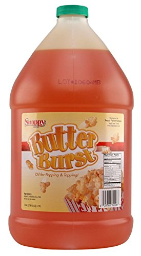 Snappy Popcorn 1 Gallon Butter Burst Buttery Oil (Buttery Popcorn compare prices)