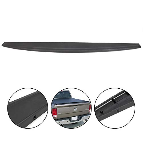 Tailgate Protector Spoiler Top Cap Molding Cover For 2009 2010 2011 2012 2013 2014 2015 2016 2017 2018 Dodge Ram 1500 2500 3500