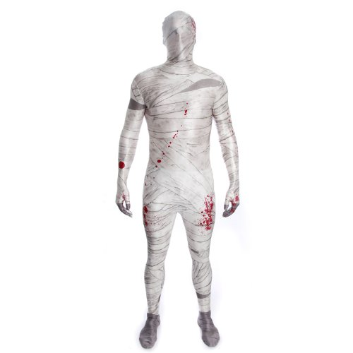 Mummy Morphsuit Fancy Dress Costume - size Large - 5'3-5'9 (159cm-175cm) -