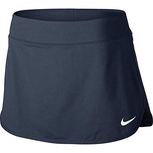Nike Women's Pure 12'' Tennis Skirt (Thunder/Blue, Small) by Nike (Image #2)