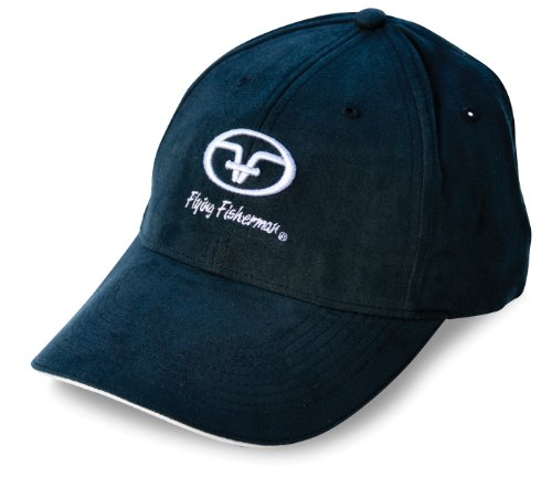 Flying Fisherman Cap (Flying Fisherman Black Logo Cap (Black, One Size))