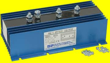 DB Electrical JNN1603SUREPOWER 160Amp 3 Battery Isolator Stereo Marine Sure Power 1603 Perfect for EMS Vehicles, Fire Trucks and Stereo Systems ()