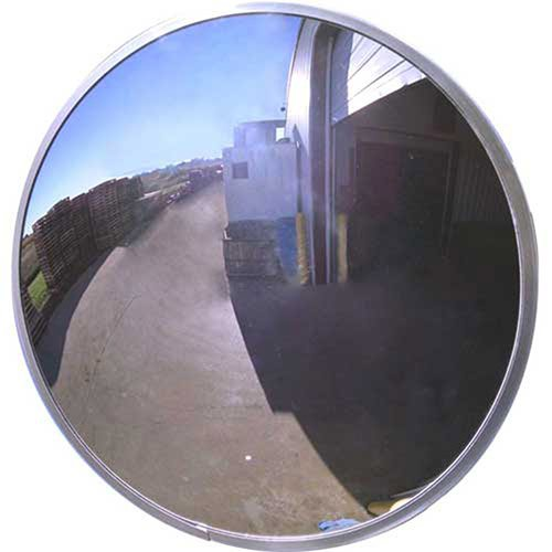 Acrylic Outdoor Convex Mirror, 26'' Diameter