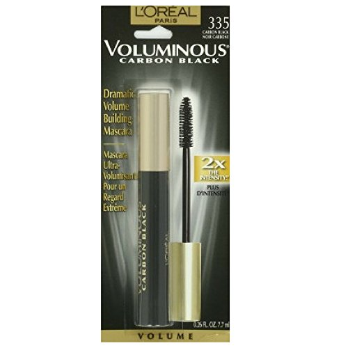 L'oreal Voluminous Original Crown Jewel Mascara, 335 Carbon Black, (2 Pack)