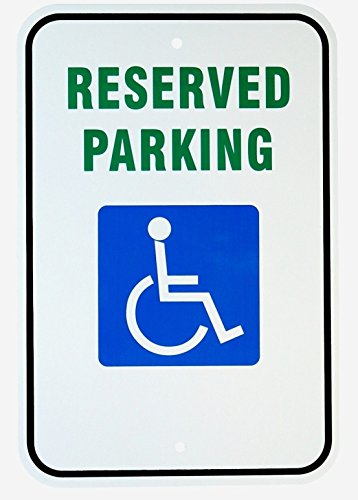 Family Reserved Parking Sign (1 Set Ideal Popular Reserved Parking Handicap Sign Vehicles Warning Exterior Message Authorized Size 12