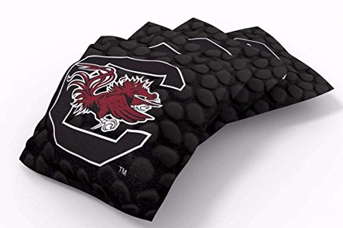 PROLINE 6x6 NCAA College South Carolina Gamecocks Cornhole Bean Bags - Pigskin Design (A)